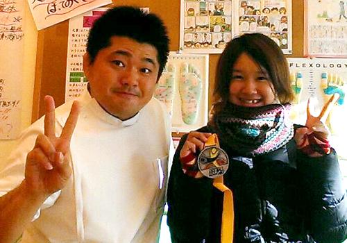 キンボール 岡村亜寿美選手