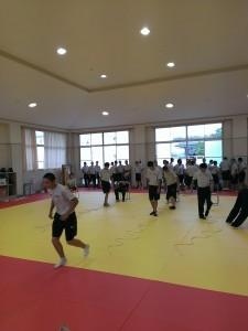 県立社高校体育科へ非常勤講師!