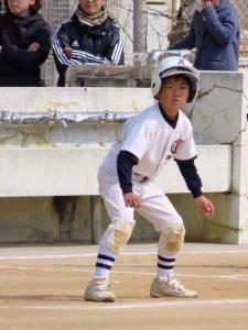 練習試合勝利(^_^)v